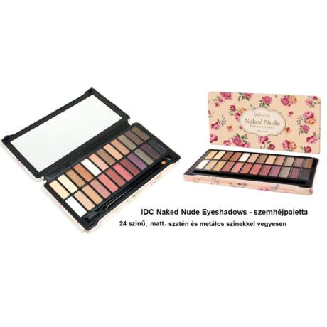 b5845a1e664d IDC Naked Nude sminkpaletta - IDC COLOR MAKE UP